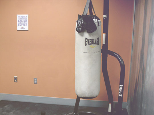Health+Center Heavy Bag Room