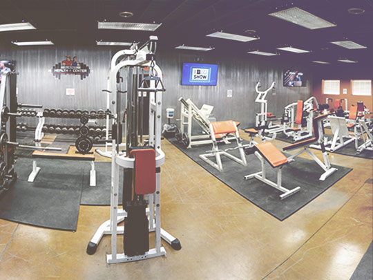 Health+Center Weight Room